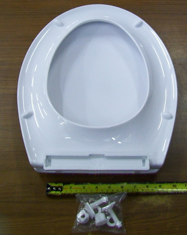 Shires Viva White Toilet Seat And Cover 02015580